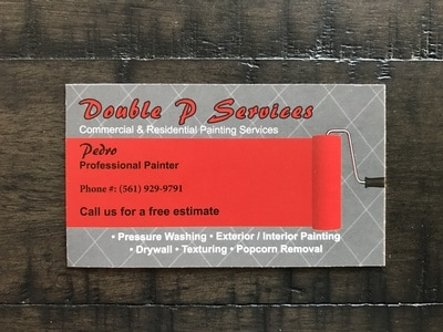 Double-Sided  Business Card